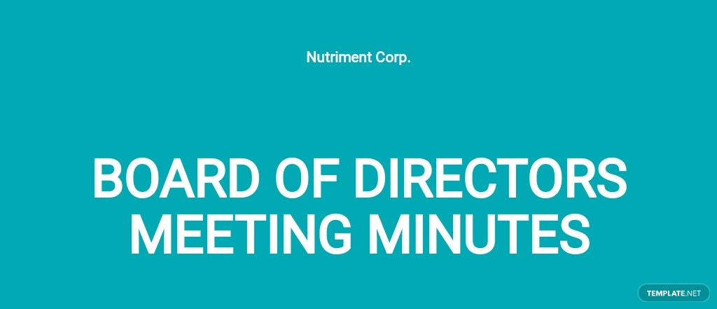 Minutes of Meeting of Directors First Template.jpe