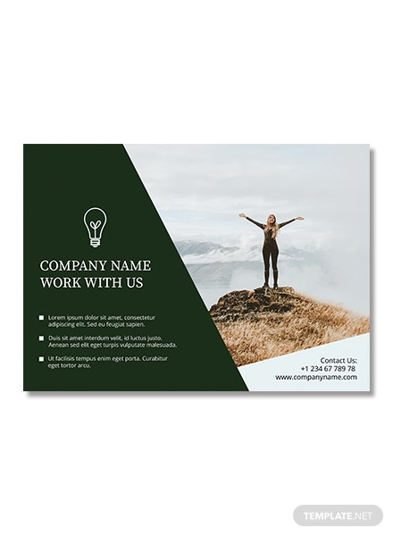 free half page flyer template in adobe photoshop