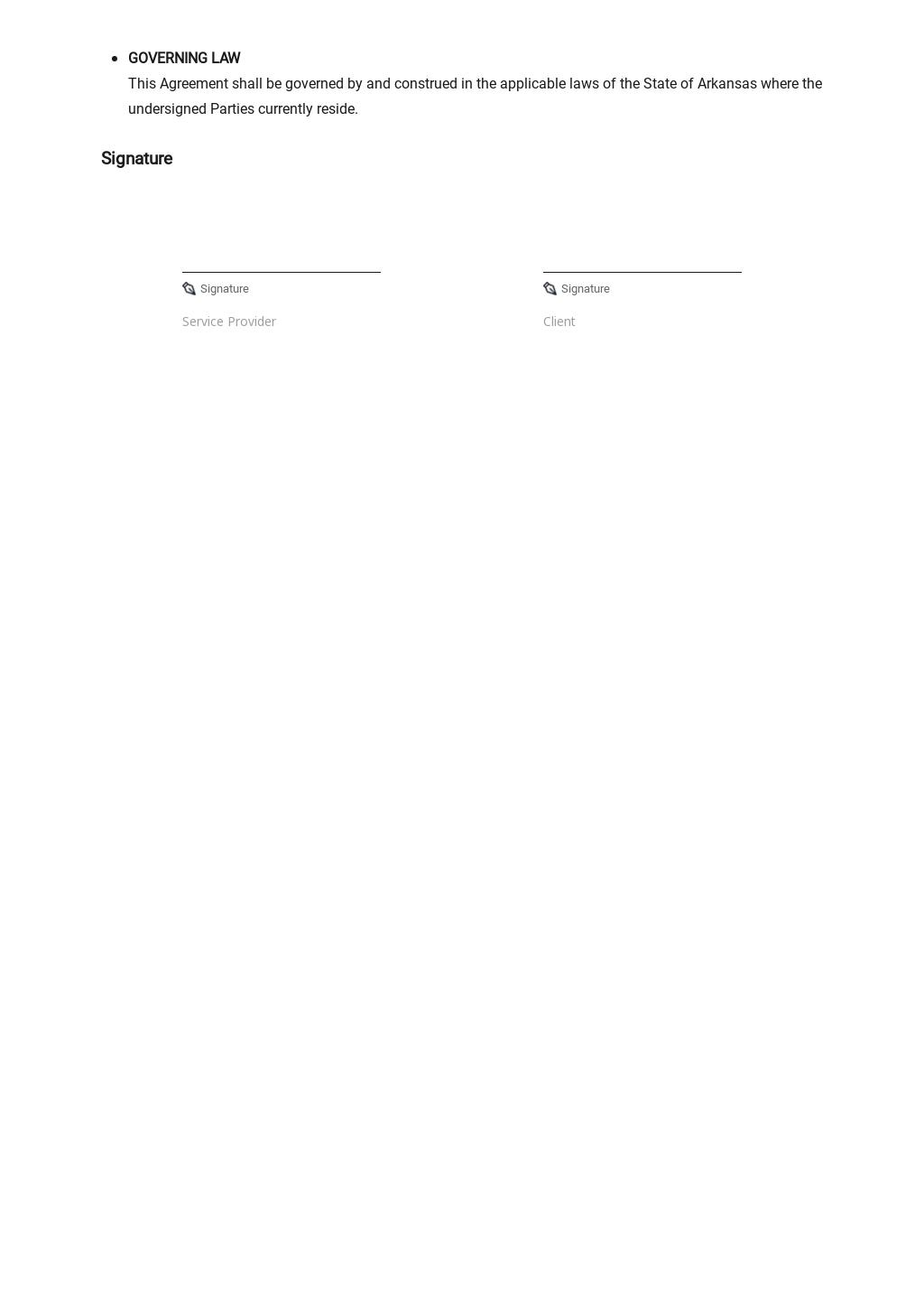 Simple Service Level Agreement Template 3.jpe