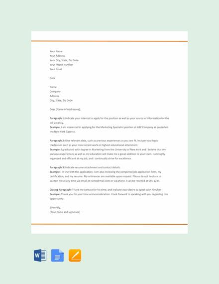 Free-Resume-Cover-Letter-Format