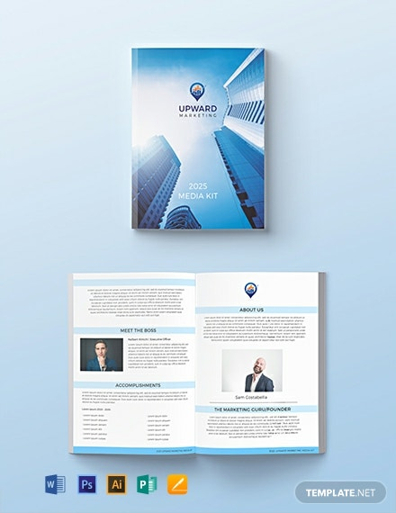 Free Marketing Media Kit Template