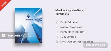 Free Marketing Media Kit Template