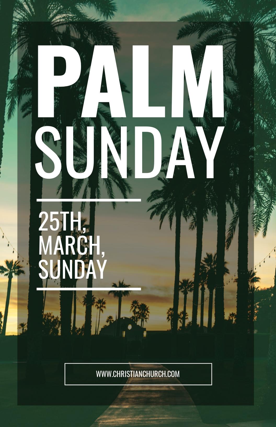 Free Palm Sunday Poster Template.jpe