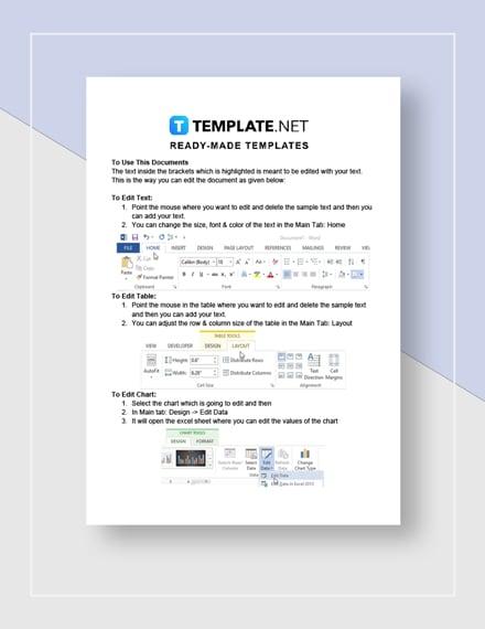 Digital Marketing Contract Instructions