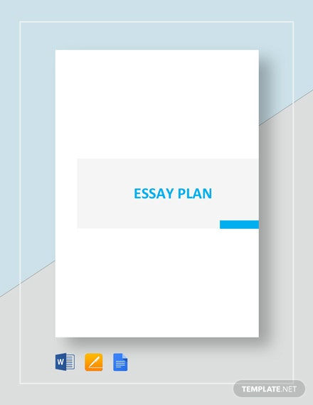 Essay Plan Template