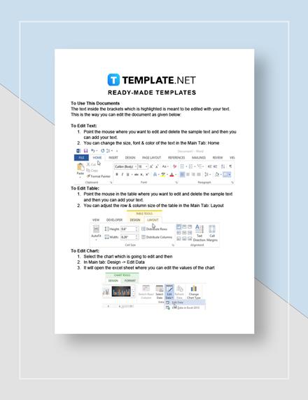 Web Design Proposal Template Word Doc Google Docs