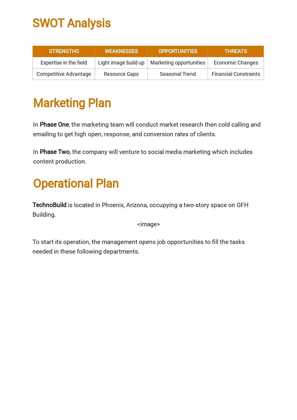 Technology Startup Business Plan Template 3.jpe