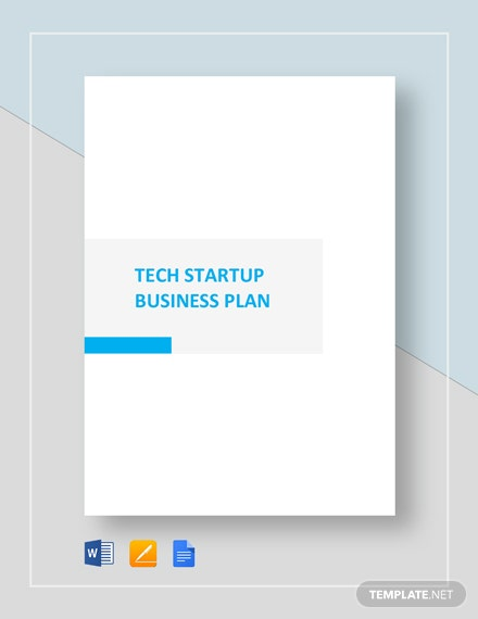 Technology Startup Business Plan