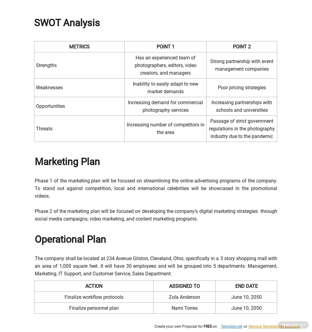 Commercial Photography Business Plan Template 2.jpe