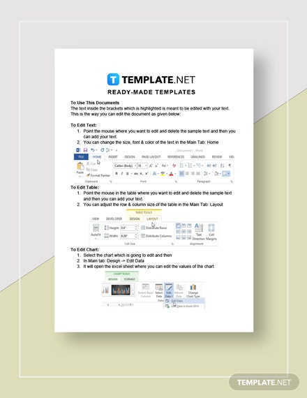 Lease Contract Instructions
