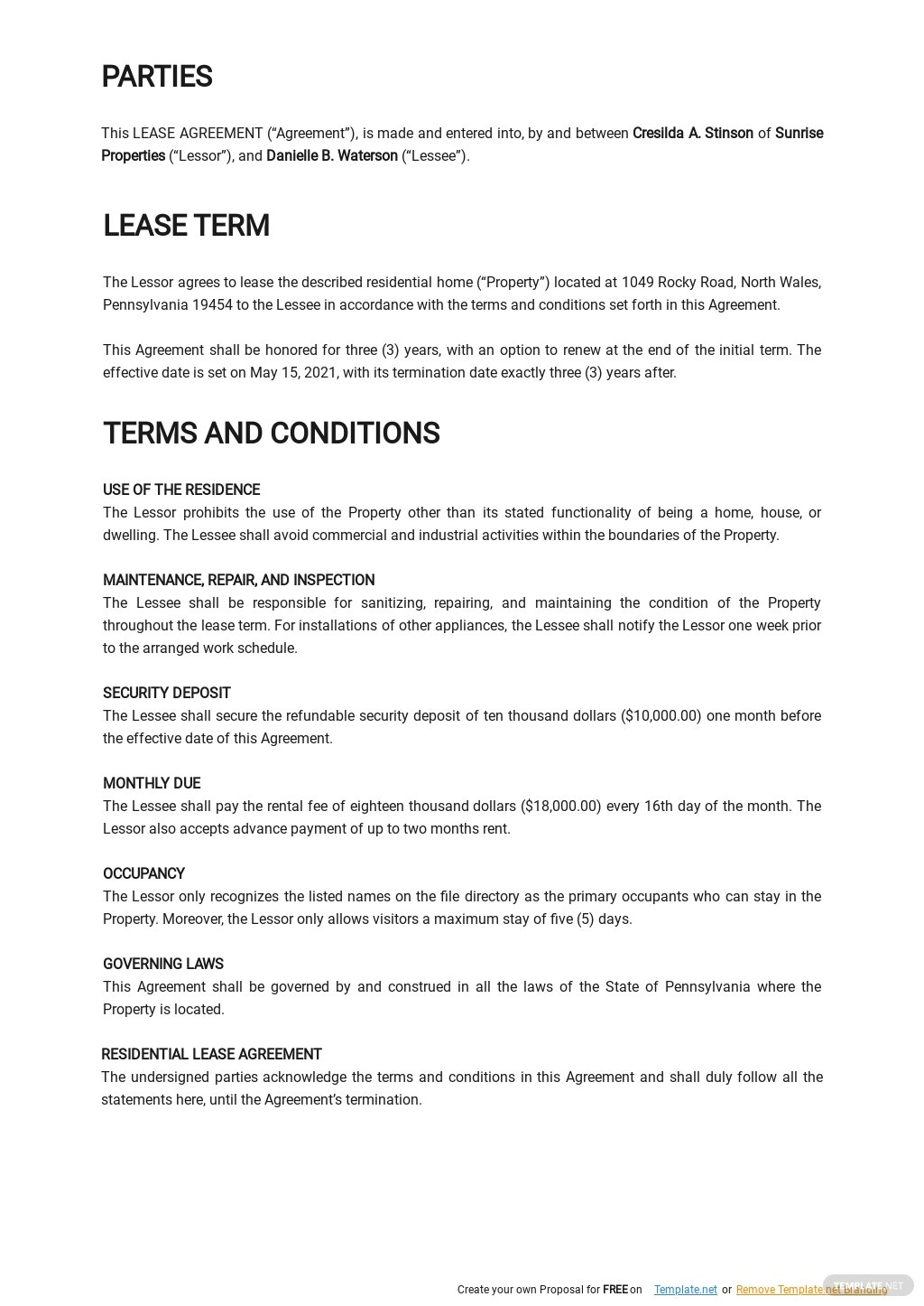 Basic Residential Lease Agreement Template 1.jpe