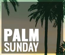 Free Palm Sunday LinkedIn Blog Post Template
