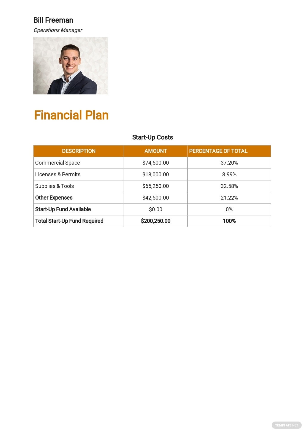 Auto Repair Service Business Plan Template 6.jpe