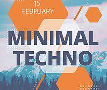 Free Minimal Flyer Template
