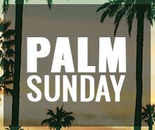 Free Palm Sunday Tumblr Post Template