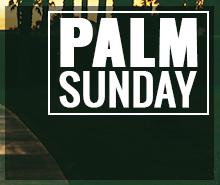 Free Palm Sunday Twitter Post Template