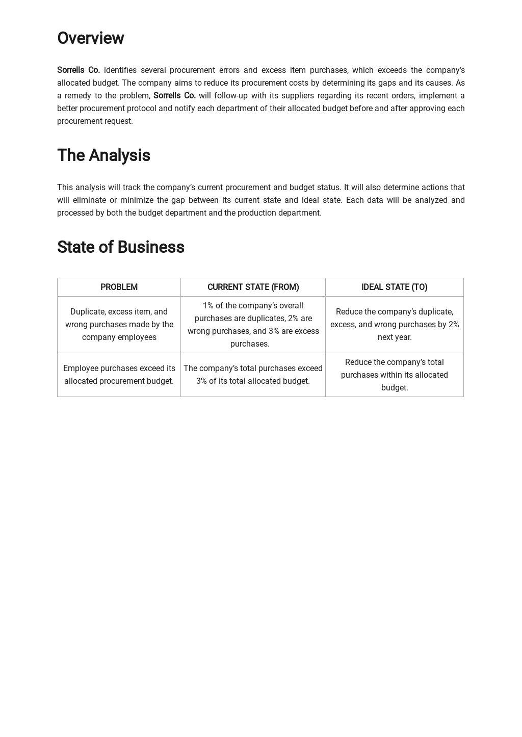 Business Process Gap Analysis Template 1.jpe