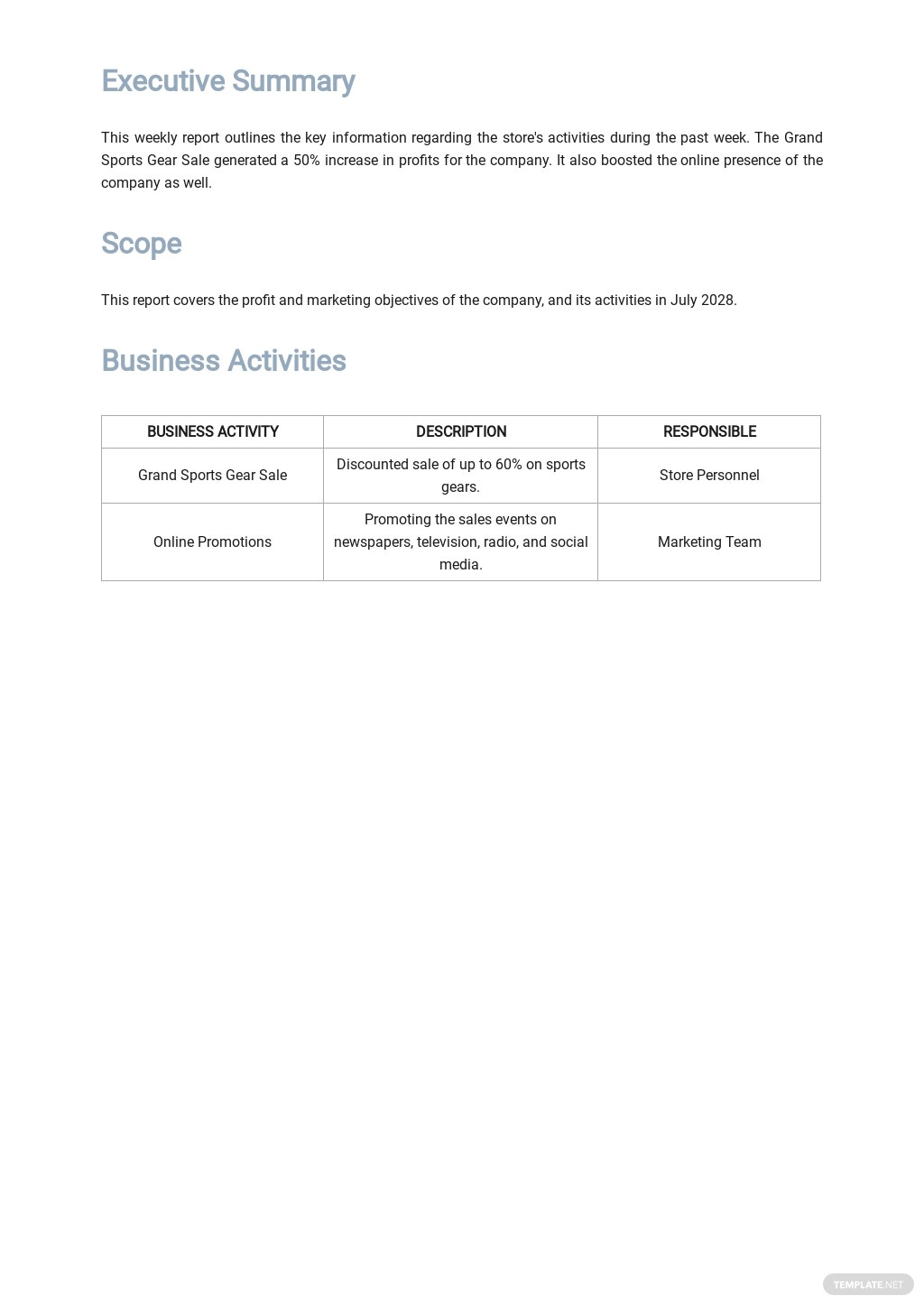 Weekly Business Report Template 1.jpe