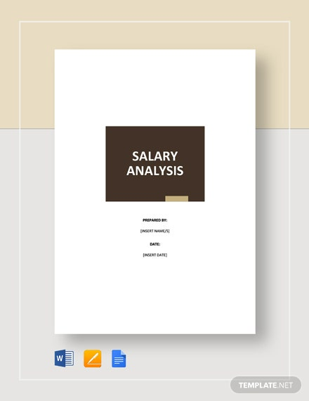 Salary Analysis Template