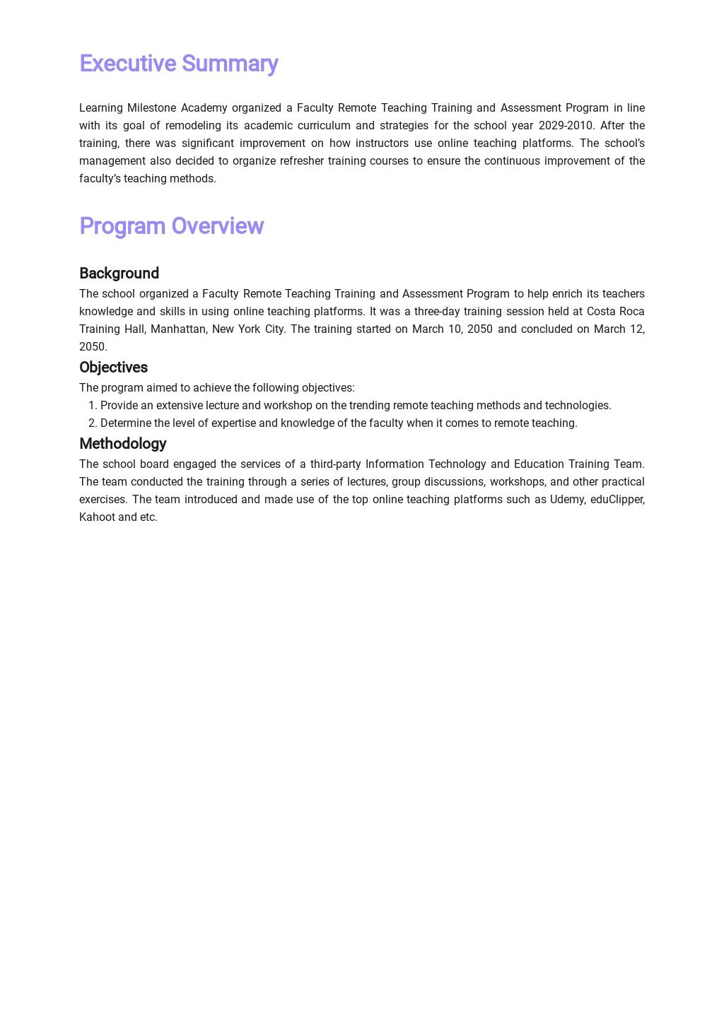 Training Evaluation Report Template 1.jpe