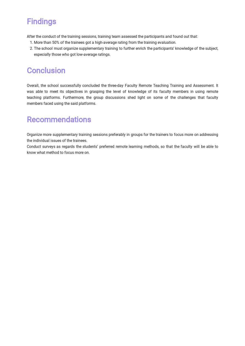Training Evaluation Report Template 2.jpe