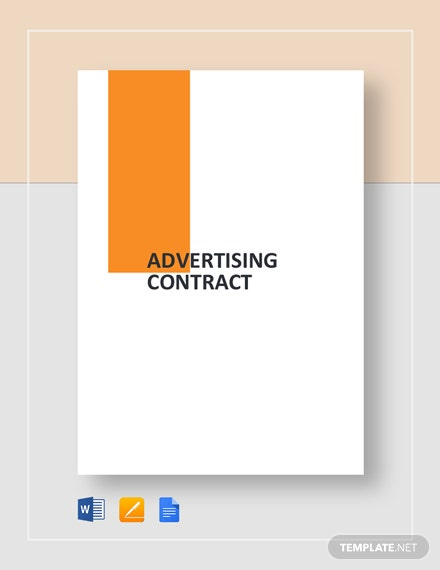 Advertising Contract Template
