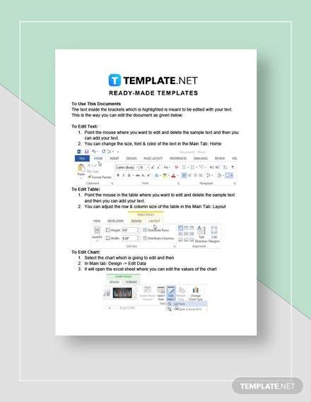 Sample Marketing Contract Instructions