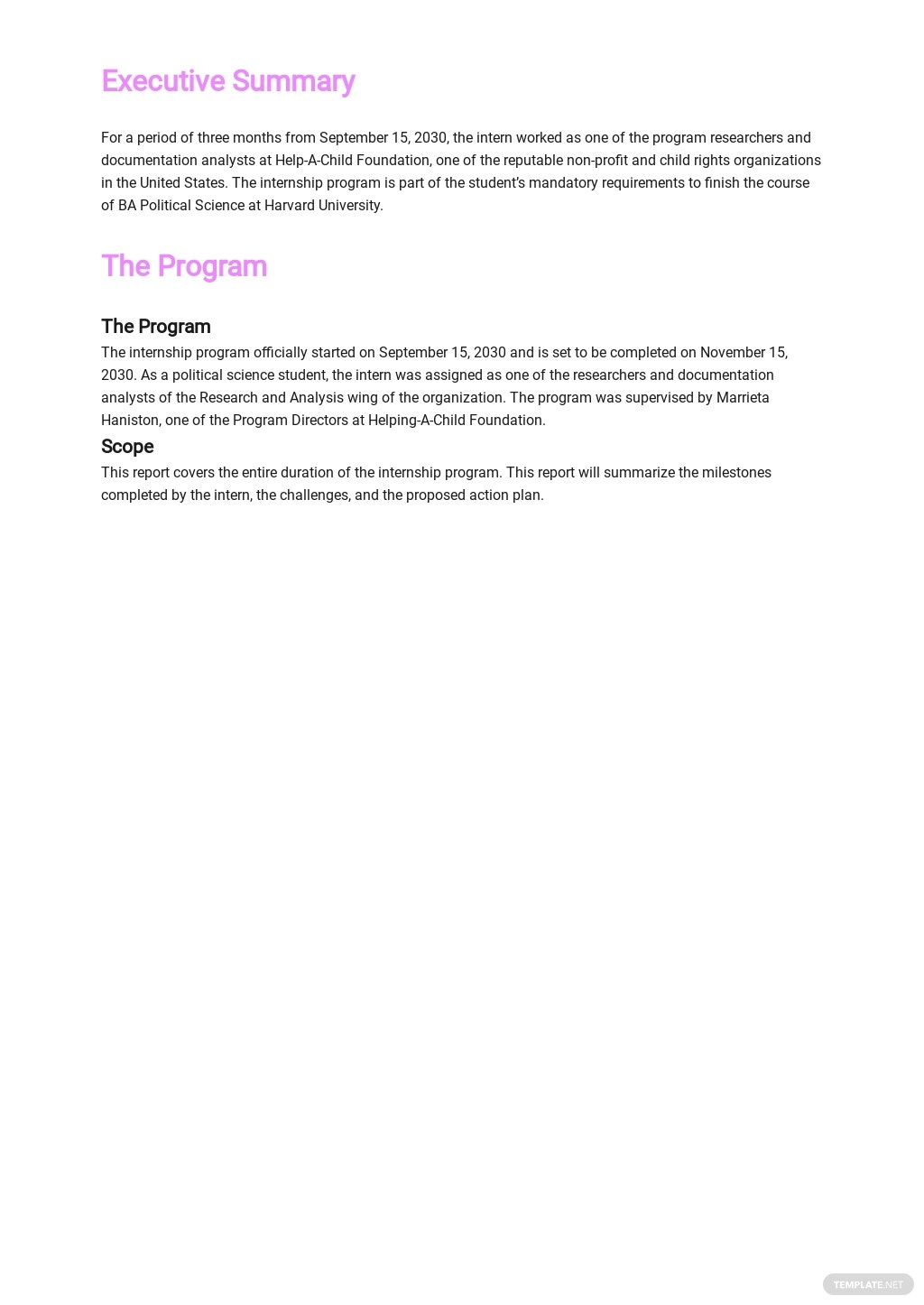 Student Internship Report Template 1.jpe