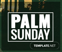 Free Palm Sunday Facebook Cover Template