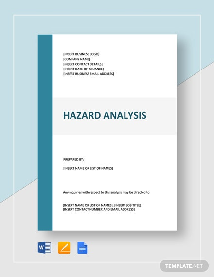 Hazard Analysis Template