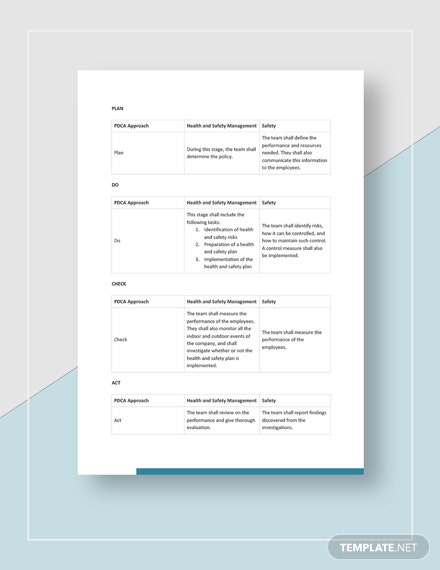 Sample Health and Safety Annual Report