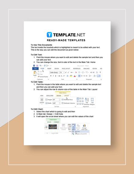 Customer Feedback Survey Instructions
