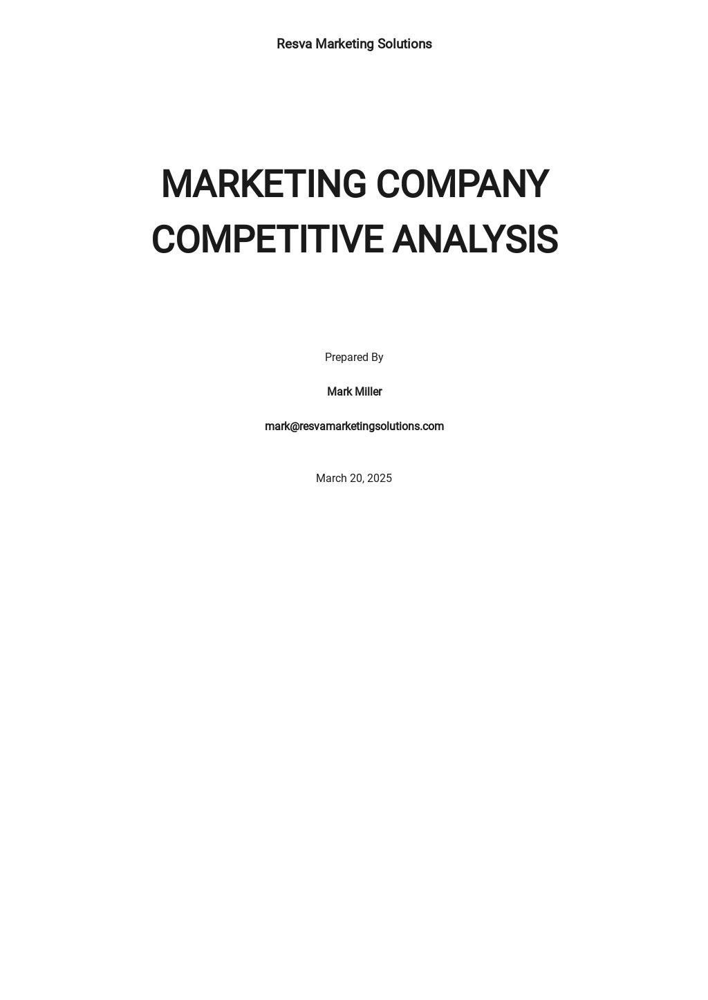 Marketing Competitive Analysis Template.jpe