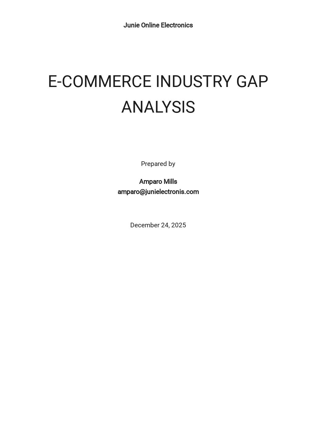 Industry Gap Analysis Template.jpe