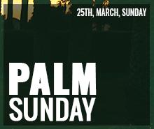 Free Palm Sunday LinkedIn Profile Banner Template
