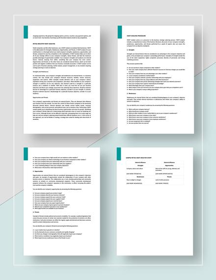 Retail SWOT Analysis Download