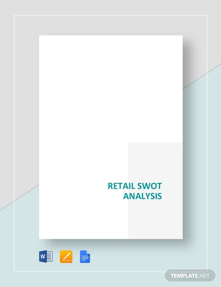 Retail SWOT Analysis Template