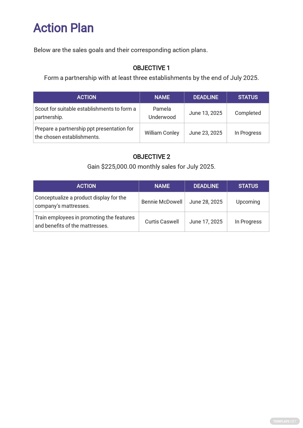 Monthly Sales Plan Template 4.jpe