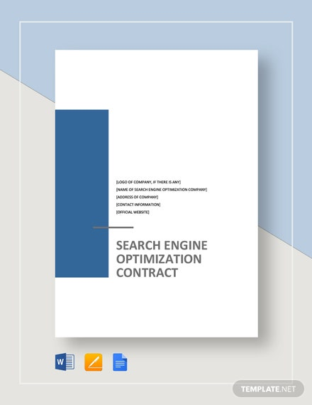 SEO Contract Template