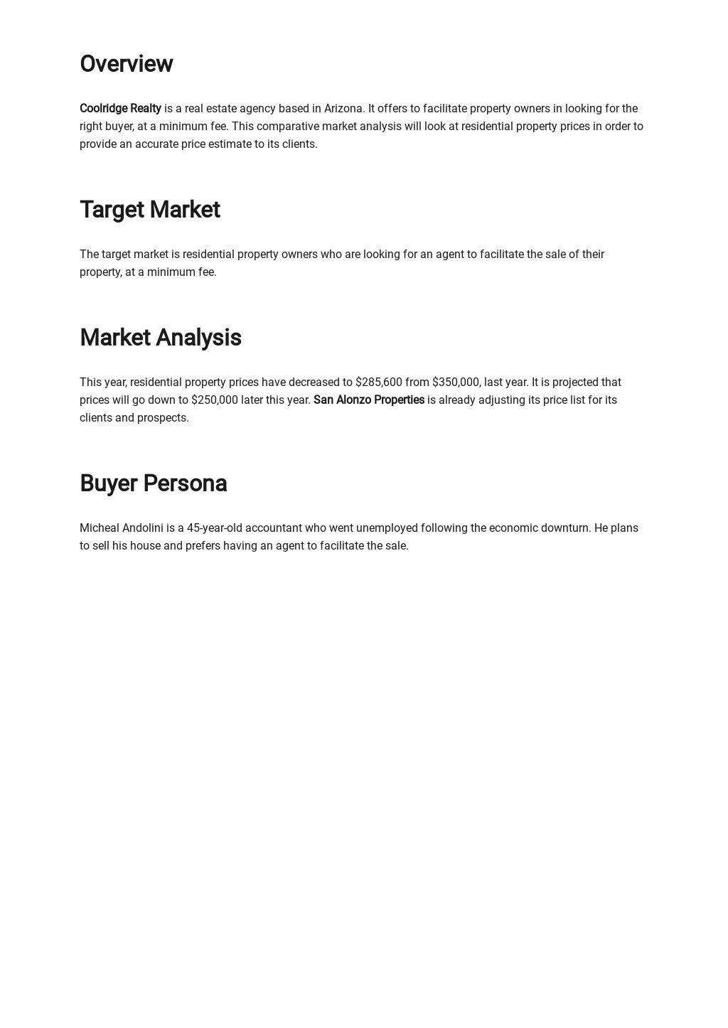 Comparative Market Analysis Template 1.jpe