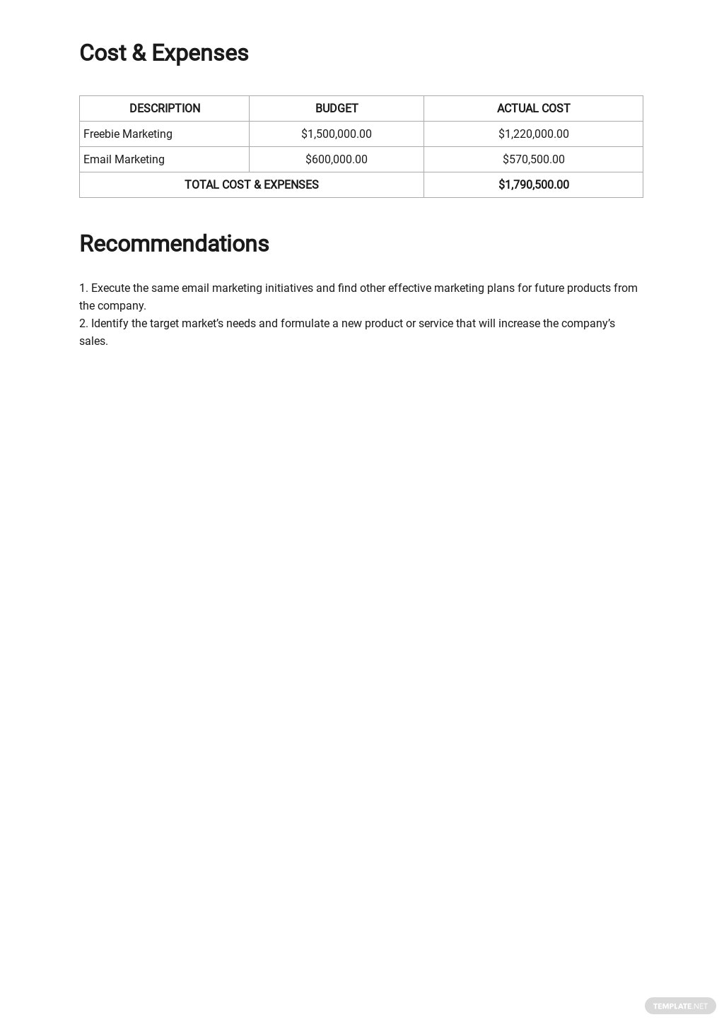 Email Marketing Report Template 2.jpe