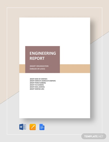 Engineering Report Template