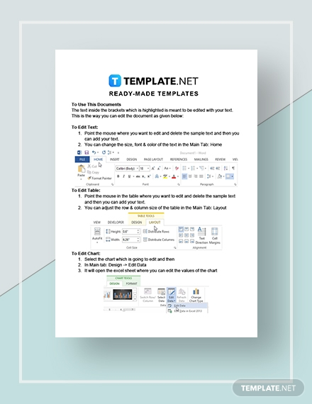 Network Quotation Instructions
