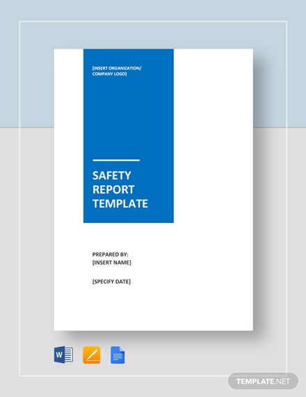 Free Safety Report Template