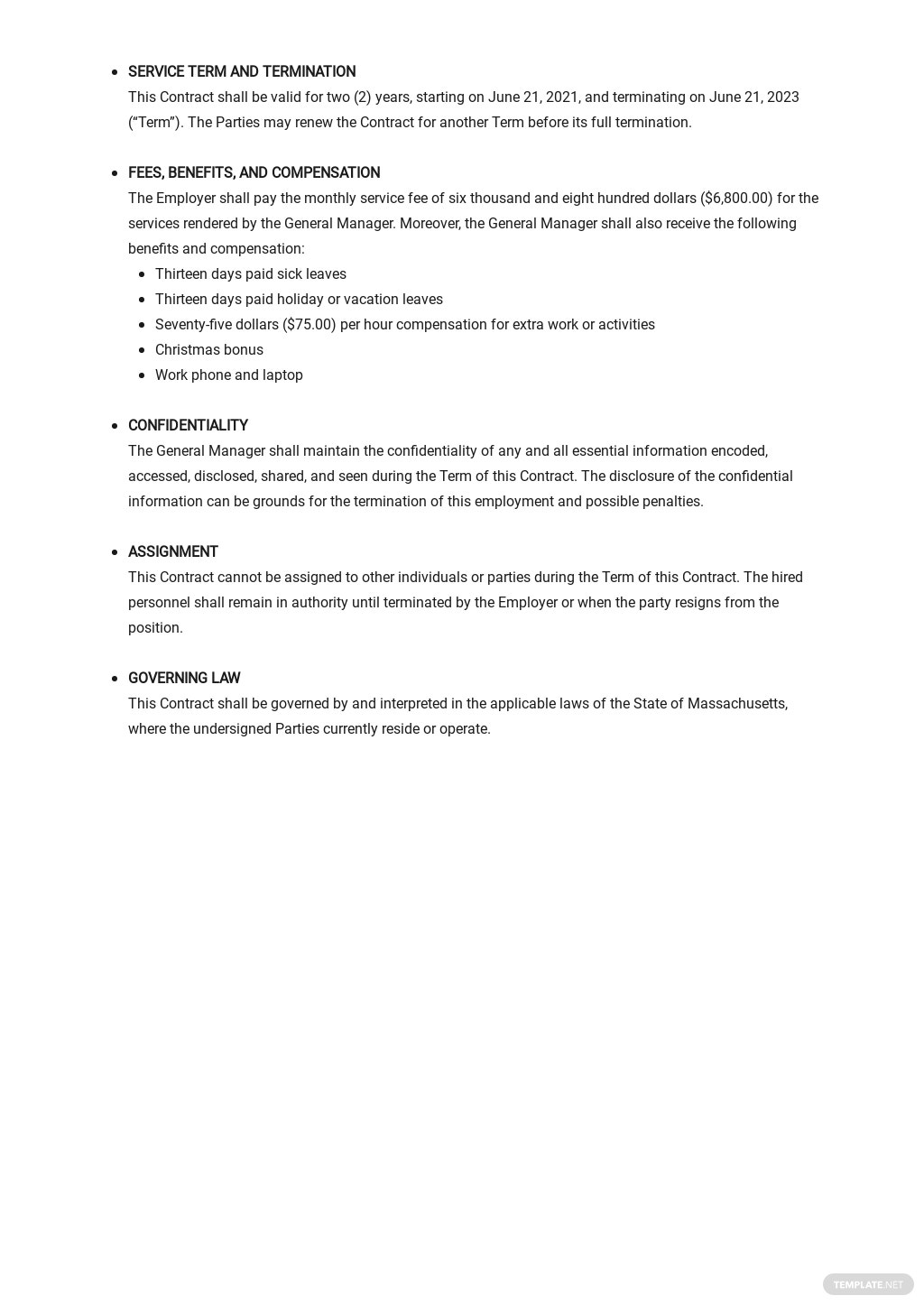 General Manager Employment Contract Template 2.jpe