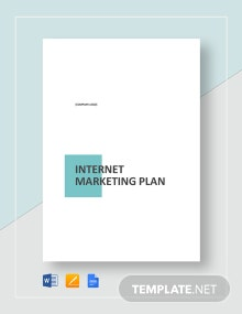 Internet Marketing Plan Template