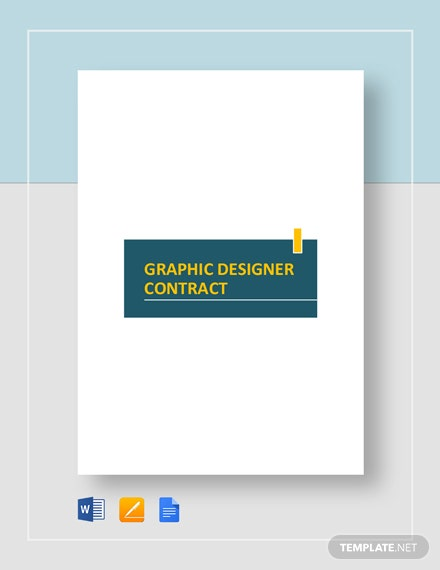 Graphic Designer Contract Template