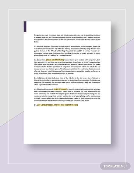 Product Market Analysis Download