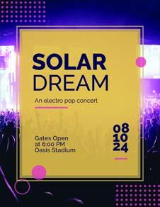 Free Concert Program Template