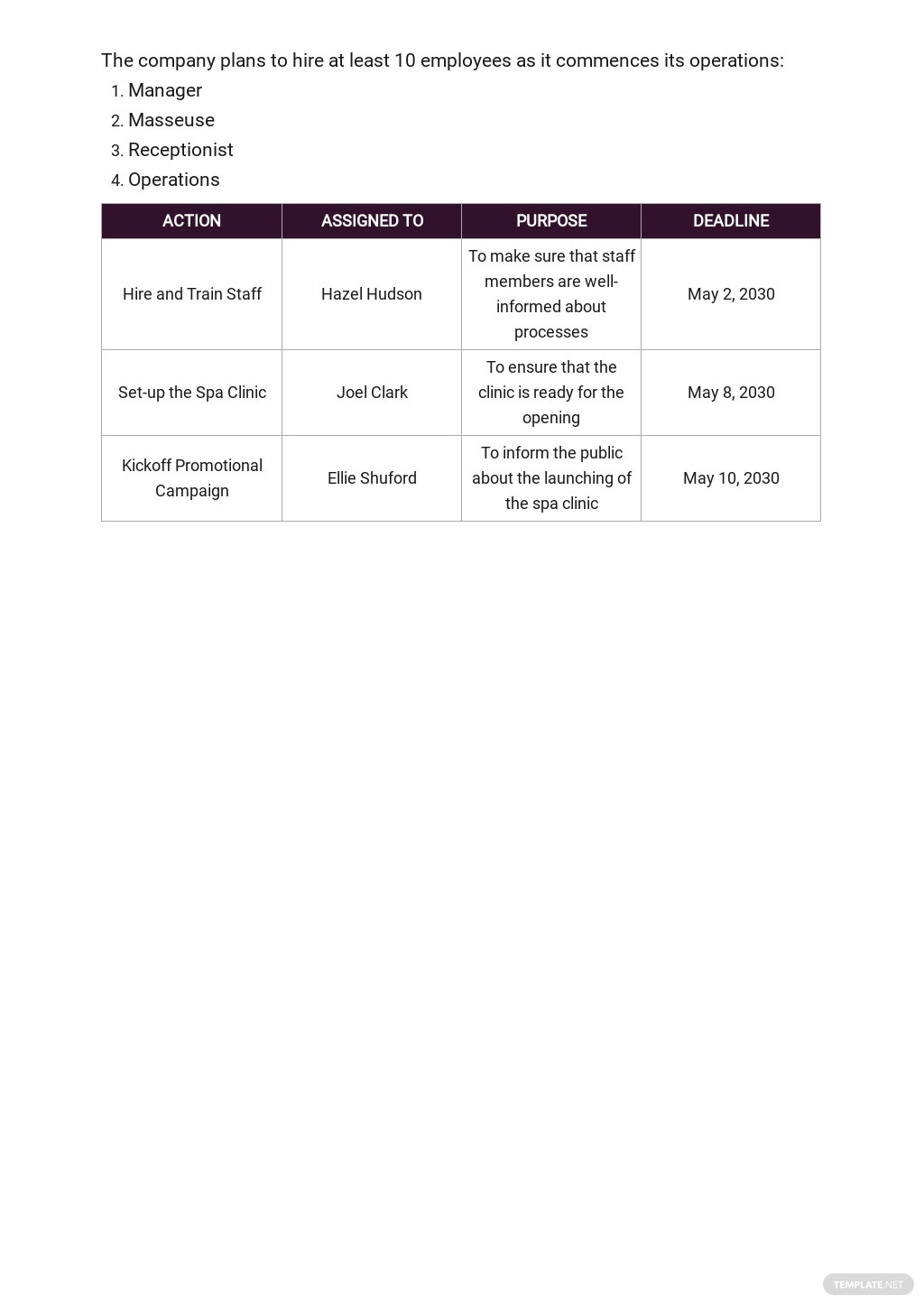 Spa Business Plan Template 5.jpe